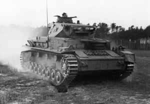 Ausbildung, Überrollen durch Panzer