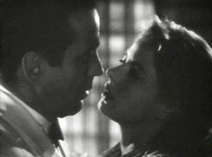 "You mean you didn't realize that Bogie and Bergman had a past relationship in ""Casablanca?"""