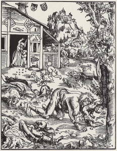 Becoming more bestial (Germany, 1512)