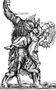 By the 18th century, werewolves had become more bestial still