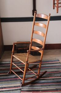 Shaker rocking chair (credit: Carl Wycoff/Pleasant Hill)
