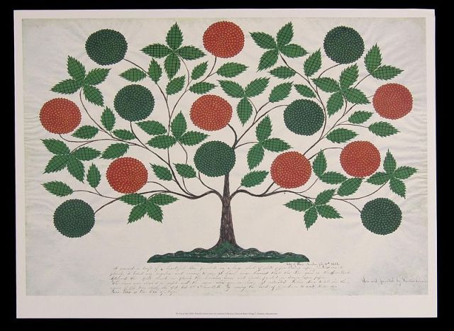 The famous Tree of Life by Sister Hannah Cohoon