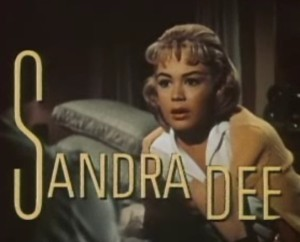 In 1959, Dee was a rising young star