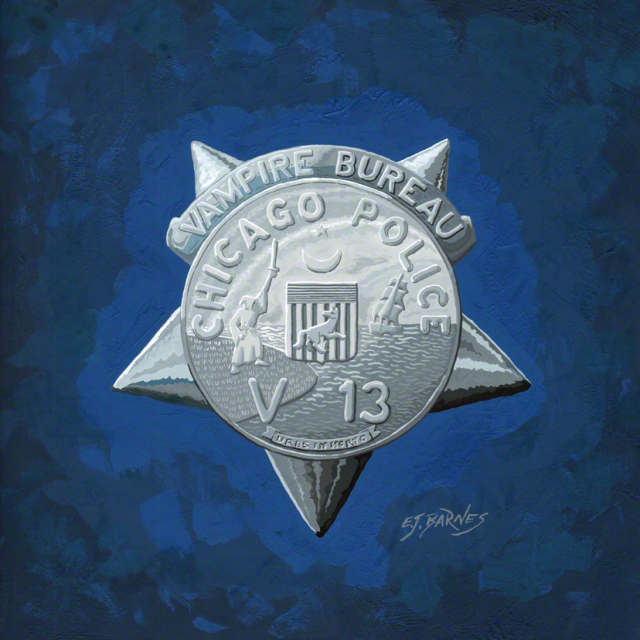 Star # V 13, Vampire Bureau, Chicago Police Department (1969)