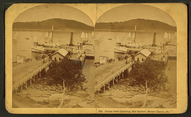 The Countess of Annandale and her ward came to Bar Harbor by steamboat