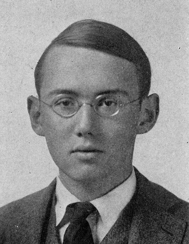 He was a Yale man, class of 1919