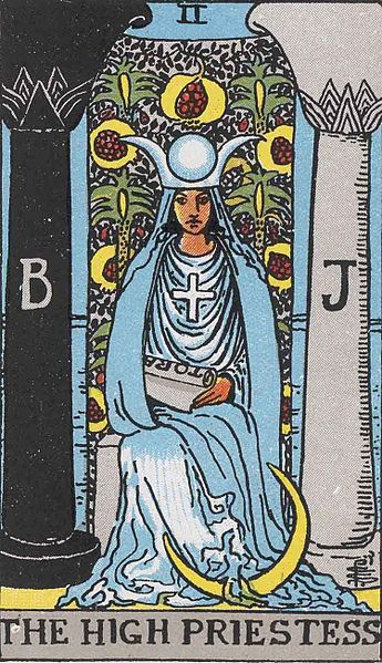 The High Priestess seems like a good choice for this story