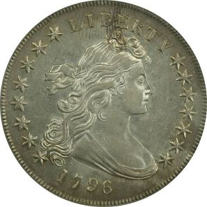 Early silver dollar obverse
