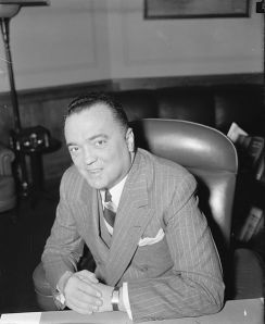 The Bureau of Investigations is the old name for the FBI, and J. Edgar Hoover was already running it in 1934