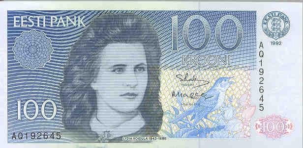 banknote-100-estonian-krooni-koidula