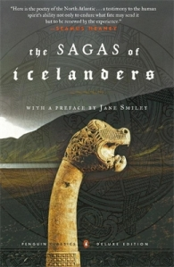 It includes both Egil's Saga and the Laxdaela Saga, by the way