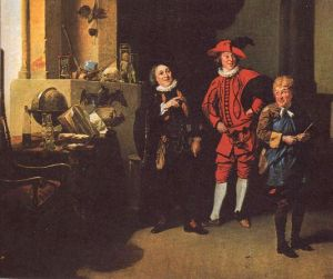 An 18th century production of the play