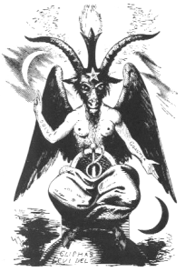 While popularly associated with the idea of the Devil, Levi's Baphmet has a more complex symbolic meaning