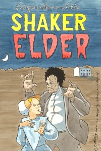 The evil Shaker elder is a stock figure in 19th century Shaker fiction (Image copyright by E.J. Barnes)