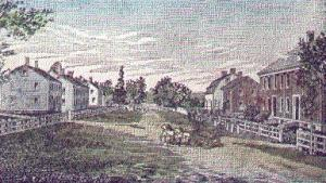 "Shirley Shaker Village, from Howells's ""Three Villages"""