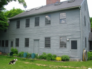 The meetinghouse as it appears today