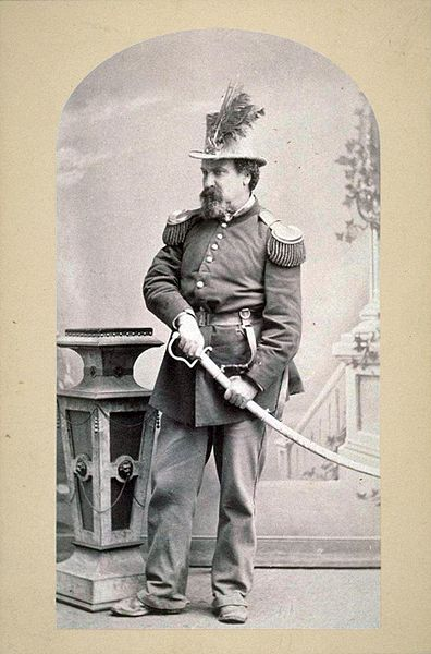 The one and only Emperor of the United States and Protector of Mexico (Don't recognize him? Go look up Joshua Norton (c. 1819 - 1880))