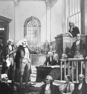 Zenger's trial