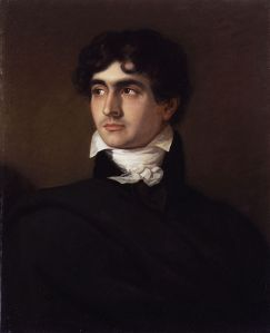 It's fitting that Polidori becomes a vampire because in real life he introduced vampires into English literature