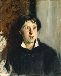 C'mon, after that description you want to know what Vernon Lee looked like, and this is how John Singer Sargent saw her