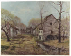 The Deserted Village - 1837 Artist: Carl Rakeman (1878-1965)