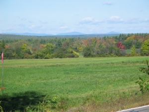 I grew up in the area, and we could always see the distant mountains Monadnock and Wachusett on the horizon
