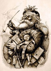 Just thinking about day 7 is bringing Santa back to his old self