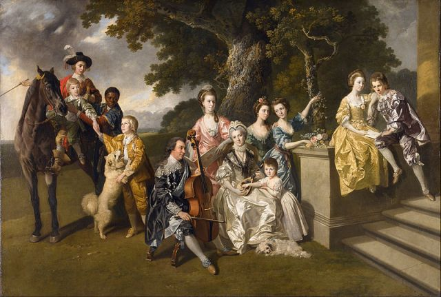 The Family of Sir William Young (c. 1768) by Johann Zoffany (1733 -1810)