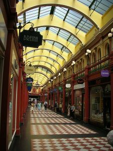 And the Mall of Lost Souls isn't just an American thing. If you look closely, you can see it lurking within Birmingham, England's Great Western Arcade, which has had more than a century's experience in entrapping the unwary