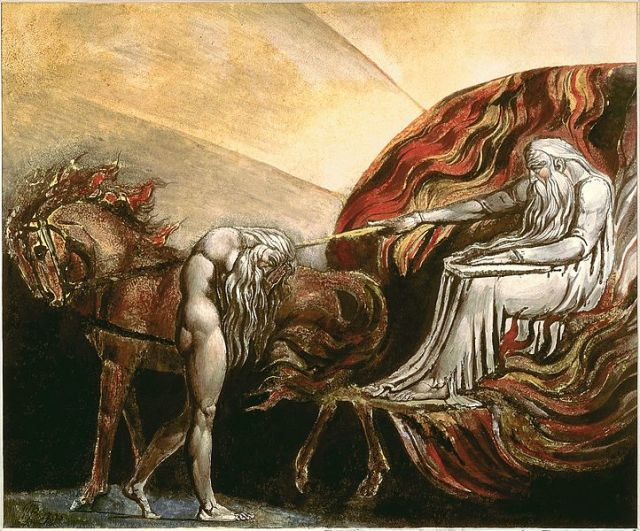 God Judging Adam by William Blake (1757-1827)