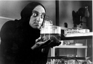 All henchmen model themselves on the best: Young Frankenstein's Igor