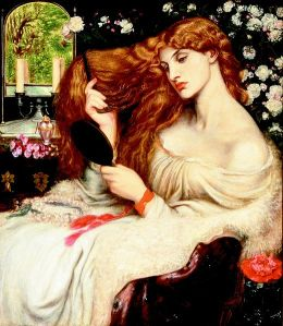 The original woman who could not be a pal: Lady Lillith (painted by Dante Gabriel Rossetti (1828-1882) between 1866 and 1873)