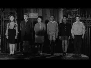 At least Children of the Damned made the evil kids multi-racial. That's progress, sort of.
