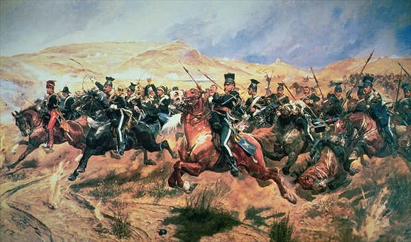 """SNAFU"" originated in the military, so a picture of a military SNAFU seemed appropriate. This is ""The Charge of the Light Brigade"" by Richard Caton Woodville, Jr. (1856-1927) who's family's life has its own SNAFU moments. Although famous and successful as a battlefield artist, Woodville committed suicide by shooting himself. Sadly, he may have taken after his father RCW, Sr., another noted artist, who died of a morphine overdose at age 30."