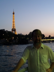 Yes, I was in Paris. No, my French is not very good.
