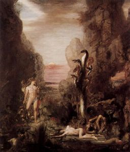 Calpurnia's second husband. No, the one on the right. (By Gustave Moreau, 1876)