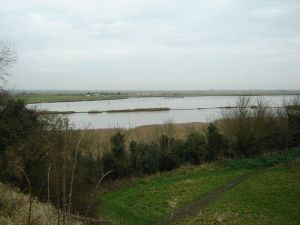 Breydon Water, not far from where Jackie and Geoff are watching the wyrm (Credit: Wikipedia/Rackellar)