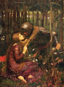 La Belle Dame sans Merci (1893) by John William Waterhouse (1849-1917)