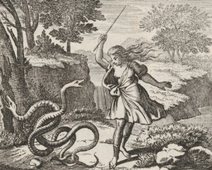 Illustration circa 1690 by Johann Ulrich Kraus (1655-1719)